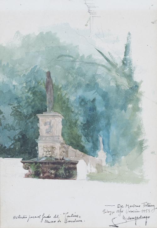 MARIANO FORTUNY Y MARSAL (Reus, Tarragona, 1838 - Roma, 1874