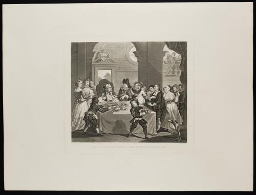 WILLIAM HOGARTH (1697-1764) Y THOMAS COOK (1808-1892)Sanch