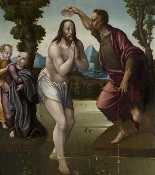 BENITO SÁNCHEZ GALINDO (c. 1530-posterior a 1588)Bautismo