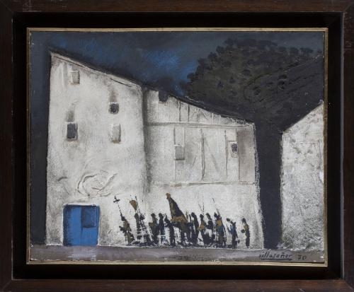 MANUEL LÓPEZ-VILLASEÑOR (Ciudad Real, 1924 - Torrelodones,