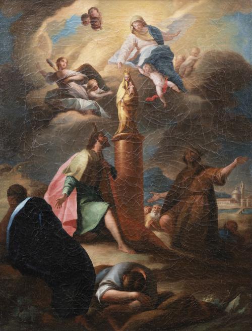 ESCUELA VALENCIANA, SIGLO XVIIIAparición de la Virgen del