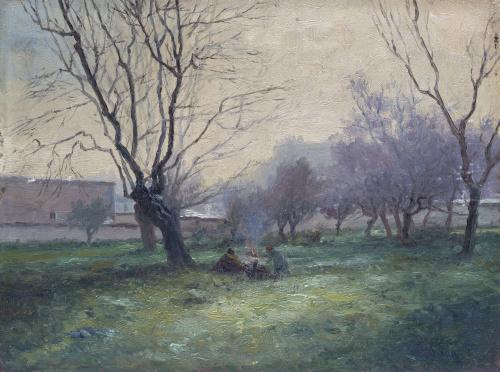 JOSÉ MARÍA SUAY DAGUÉS (Valencia, siglo XIX-XX)Cuartel del