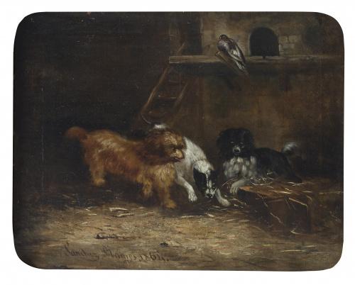 """MANUEL SÁNCHEZ RAMOS (Sevilla, mediados del siglo XIX)""""Per"""