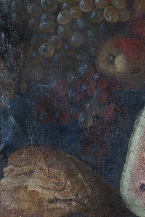 ATRIBUIDO A JUAN DE ESPINOSA  (1605/10-1671)Bodegón con sa