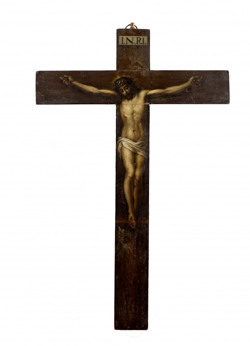 ESCUELA ESPAÑOLA, SIGLO XVIICristo crucificado