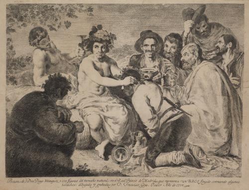 FRANCISCO DE GOYA Y LUCIENTES (Fuendetodos, 1746 - Burdeos,