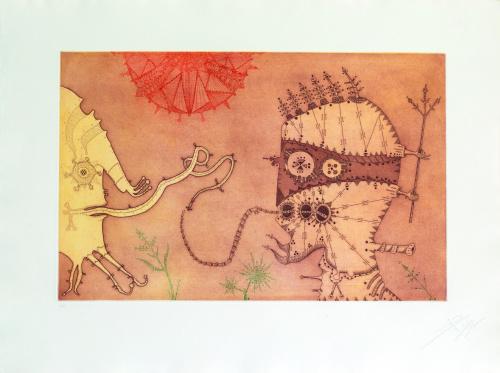 JOAN PONÇ (Barcelona, 1927- Saint-Paul-de-Vence, 1984), JOA