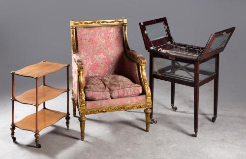 Mueble bar en madera de caoba.primera mitad del S. XX