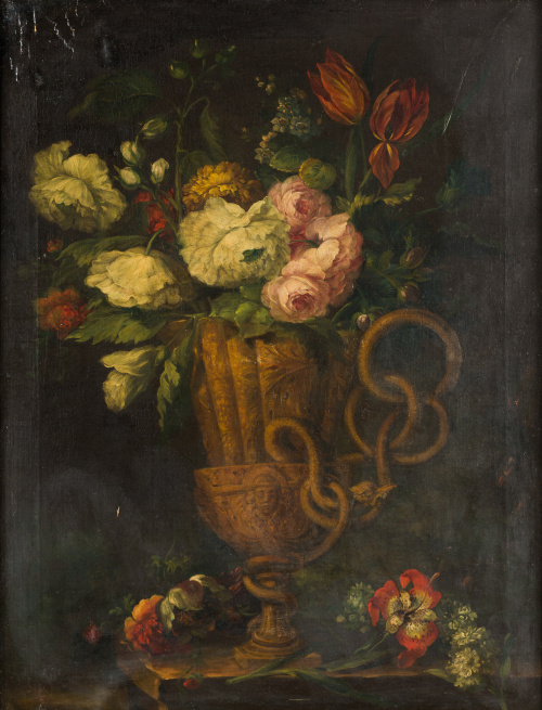 ESCUELA ESPAÑOLA, SIGLO XIX-XXPareja de floreros