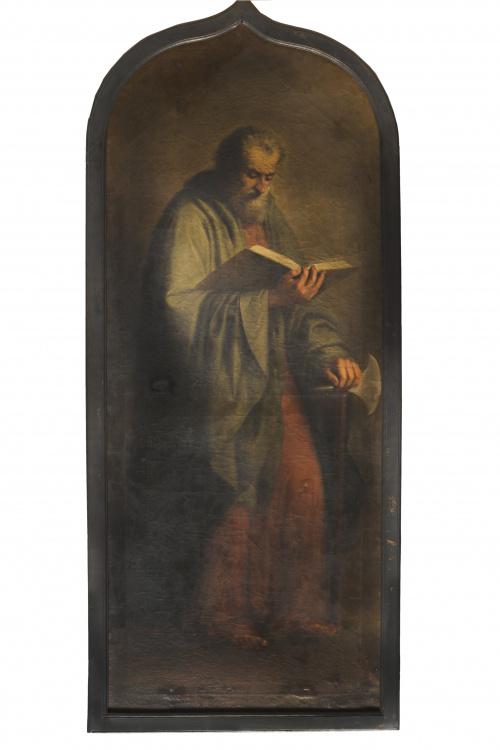 ANTONIO MARÍA ESQUIVEL (1806-1857)San Judas Tadeo y San Fe