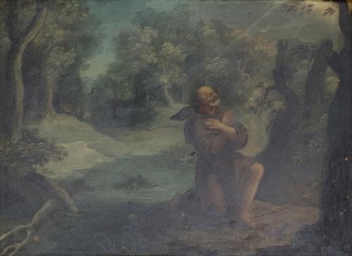 ESCUELA FLAMENCA SIGLO XVIISan Teonas (Egipto, siglo IV)