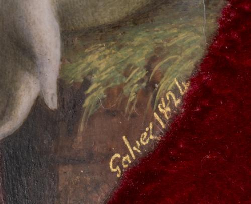 JUAN GÁLVEZ (1774-1846)Alegoría de La ligereza del Amor, 1