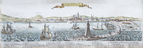 JOHAN STRIDBECK DER JÜNGERE (1665-1714)Vista del Puerto de
