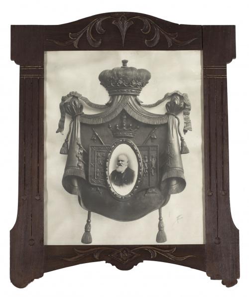 JAVIER CÁCERES (Escuela española, siglo XIX)Pareja de marc