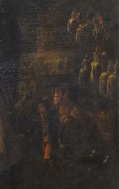 ESCUELA ESPAÑOLA O COLONIAL, H. 1760Don Eugenio Alvarado,