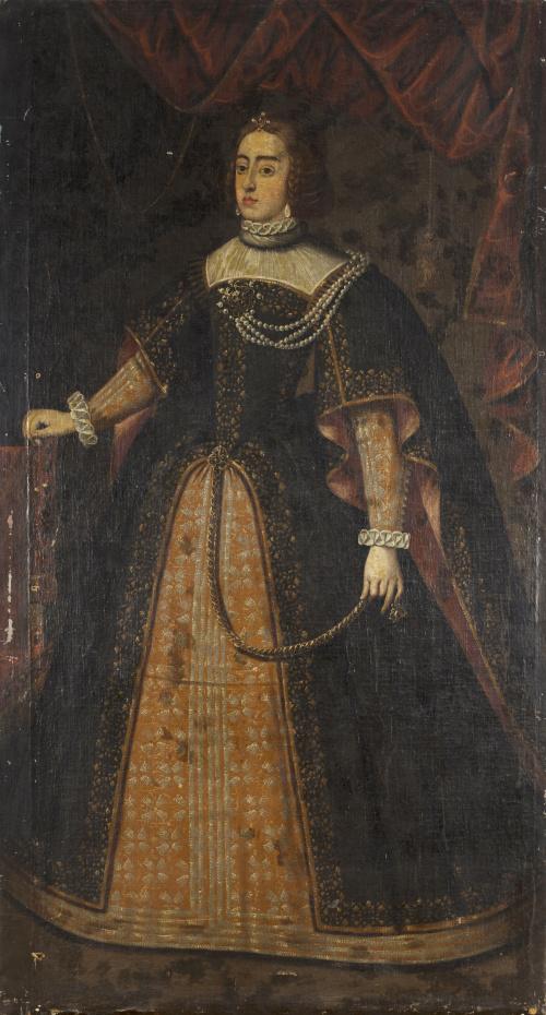 ESCUELA ESPAÑOLA, SIGLO XVIIRetrato de Isabel de Portugal
