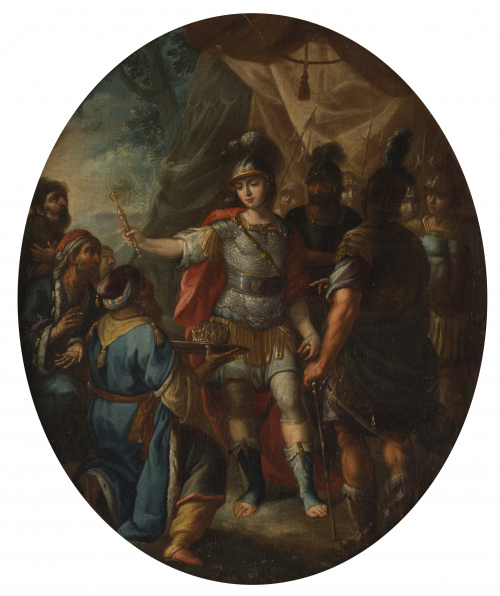 GIOVANNI TUCCARI (1667-1743)Tondos de la vida de Alejandro