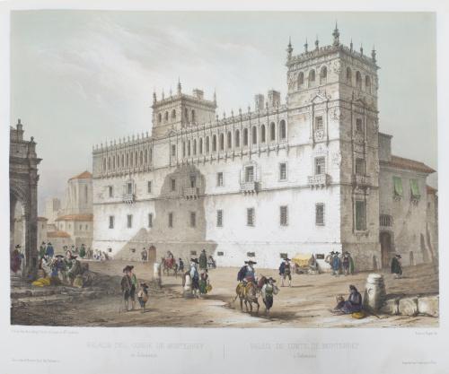 GENARO PÉREZ VILLAAMIL (1807-1854)España artística y monum