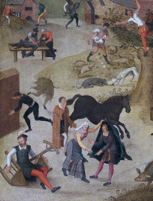ABEL GRIMMER (c. 1570-1618/9)Los proverbios: el verdadero