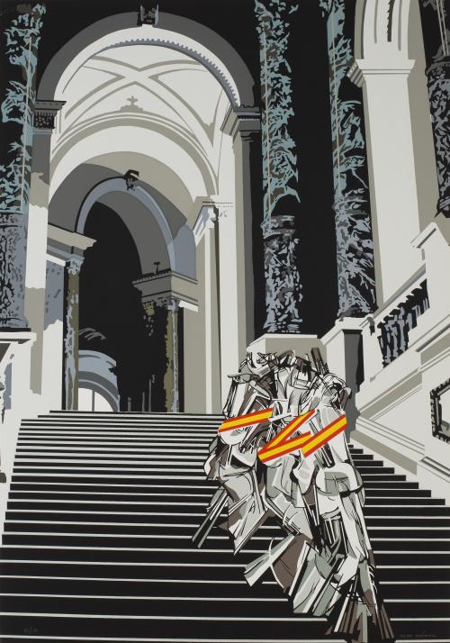 EQUIPO CRÓNICA (act.1964 - 1981)Desnudo bajando la escaler