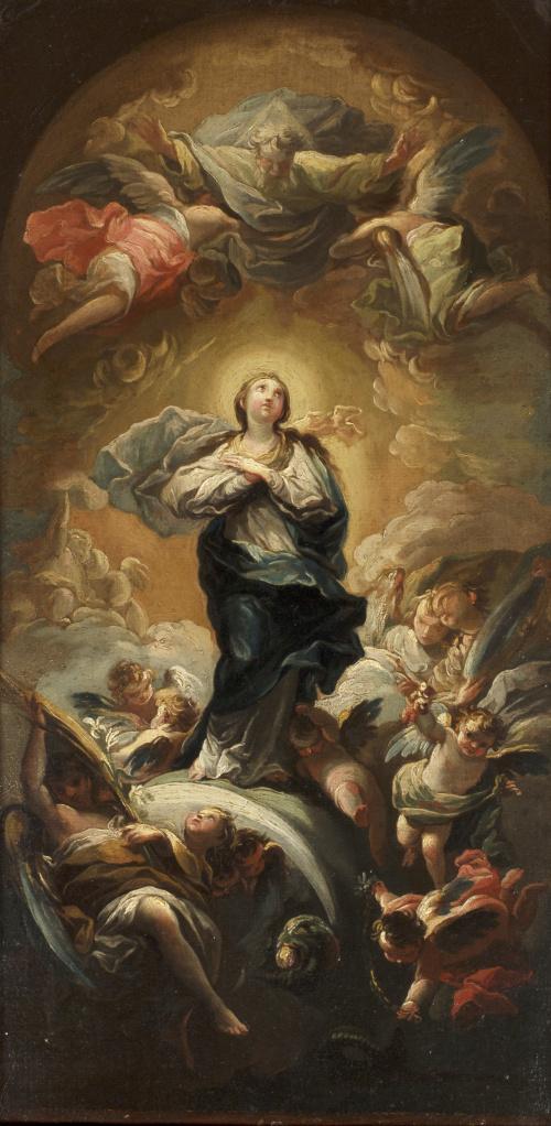MARIANO SALVADOR MAELLA (1739-1819)Inmaculada Concepción,