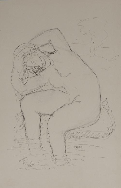 GINÉS PARRA (Zurgena, Almería, 1895 - París, 1960)Mujer en