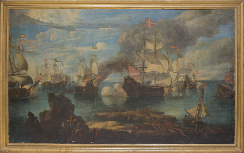 ESCUELA ITALIANA (GÉNOVA- FLORENCIA), FINALES DEL SIGLO XVI
