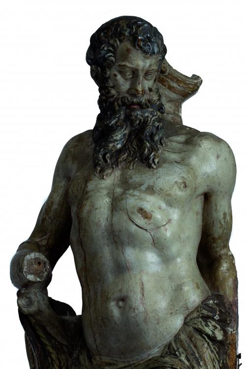 "Juan de Juni (Joigny, 1506 - Valladolid, 1577).""San Jeróni"