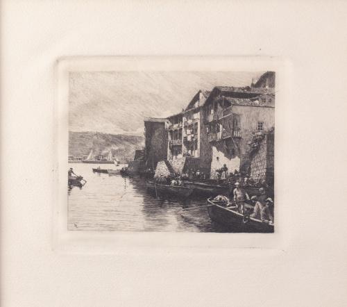 TOMÁS CAMPUZANO (Santander, 1857 -  Becerril de la Sierra,