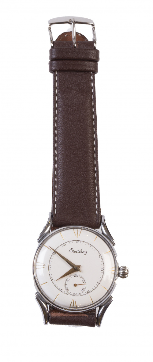 Reloj BREITLING años 40 en acero