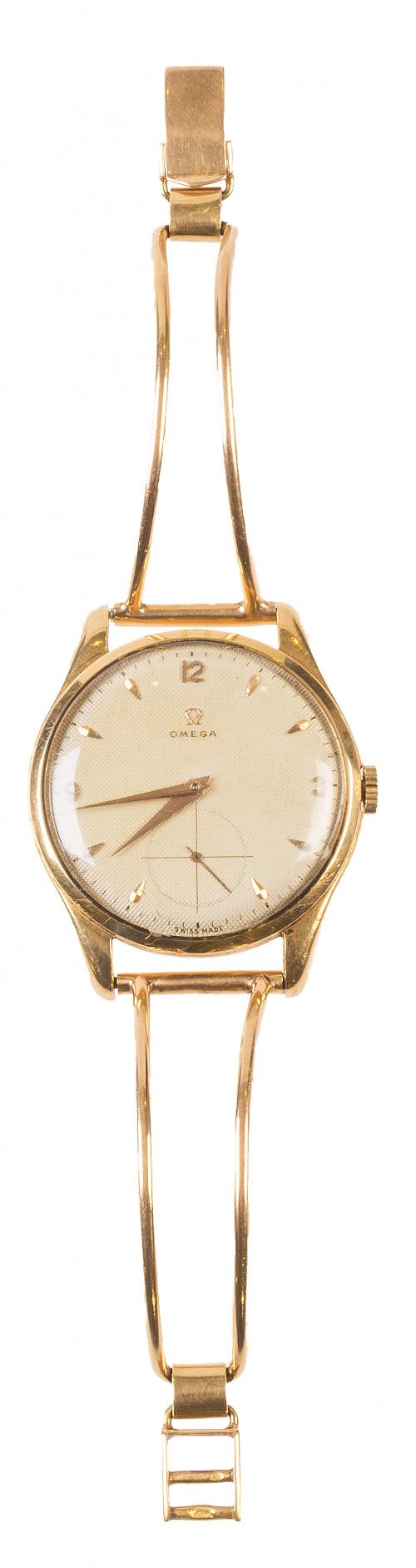Reloj de pulsera OMEGA en oro amarillo de 18K
