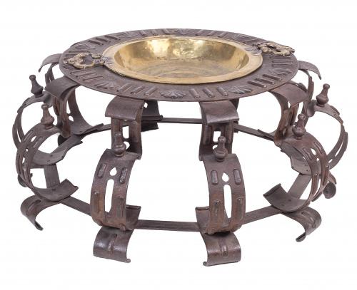 Brasero en hierro forjado, S. XVII