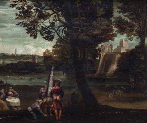ATRIBUIDO A GIOVANNI DI NICCOLÒ llamado DOSSO DOSSI (1486-1