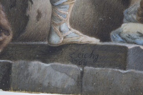 ZEICHG* (Escuela polaca, siglo XVIII)Medea subida en el ca