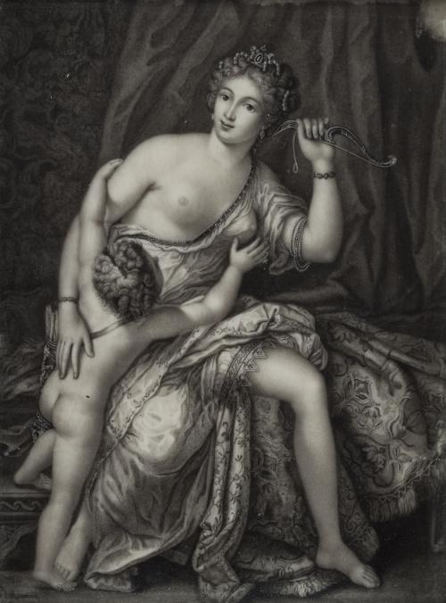 M. BACKMAN, SIGLO XVIIICupido desarmado por el amor, 1791
