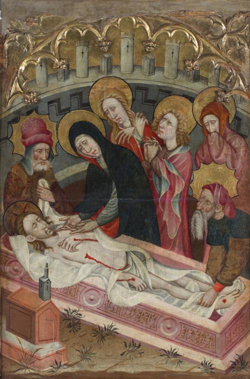 MAESTRO DE LANGA (activo en Aragón pp. siglo XV)Santo Enti