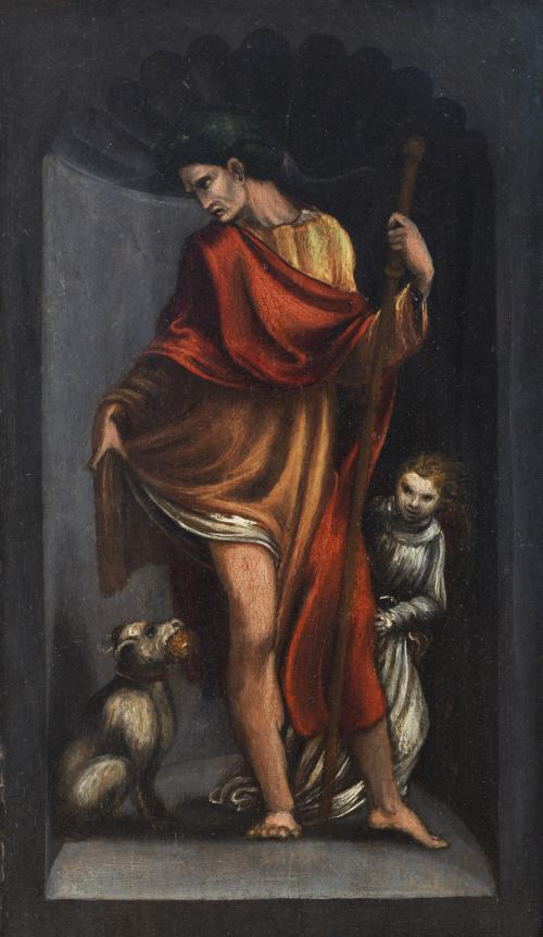 PEDRO MACHUCA (h. 1490-1550)Tríptico de la Virgen María co