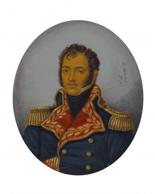 J. LeBeDef (Escuela francesa, siglo XIX)Retrato de Jerónim