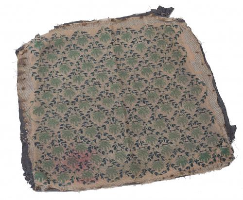 Asiento para tapizar en petit-point.Trabajo inglés, S. XI