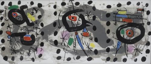 JOAN MIRÓ (Barcelona, 1893 - Palma de Mallorca, 1983), JOAN