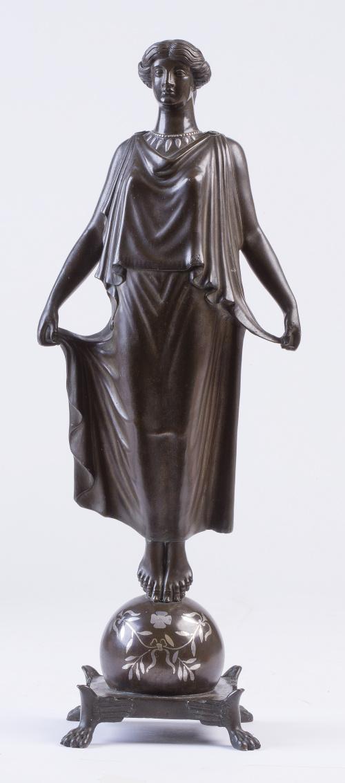Sabatino de Angelis, Nápoles, 1904Figura Escultórica del