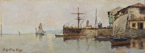JUAN MARTÍNEZ ABADES  (Gijón, 1862-Madrid, 1920), JUAN MART