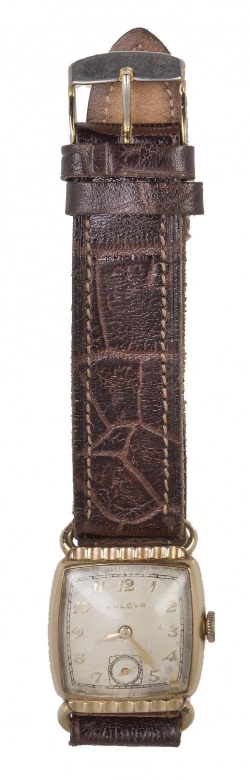 Reloj BULOVA años 30. nº 6601181 plaqué or