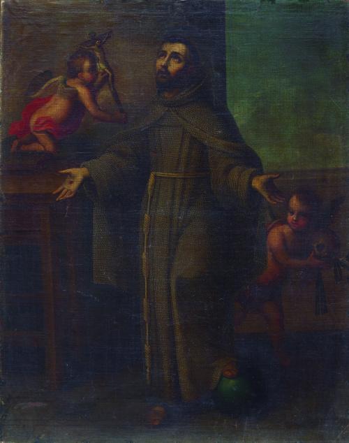 ESCUELA MEXICANA, SIGLO XVIII, ESCUELA MEXICANA, SIGLO XVII