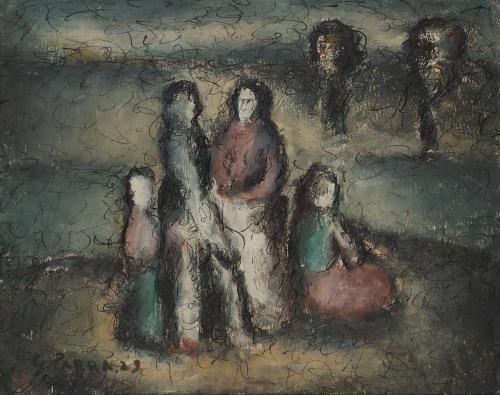 GINÉS PARRA (Zurgena, Almería, 1895 - París, 1960)Les Bohé