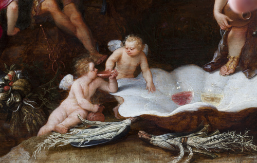 ADRIAEN VAN STALBEMT (Amberes, 1580-1662) , ADRIAEN VAN STA