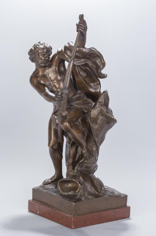 Escultura en bronce, quizás Grand Tour, S. XIX