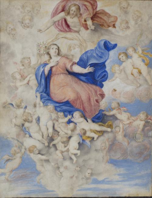 ESCUELA ESPAÑOLA, H. 1700Asunción de la Virgen