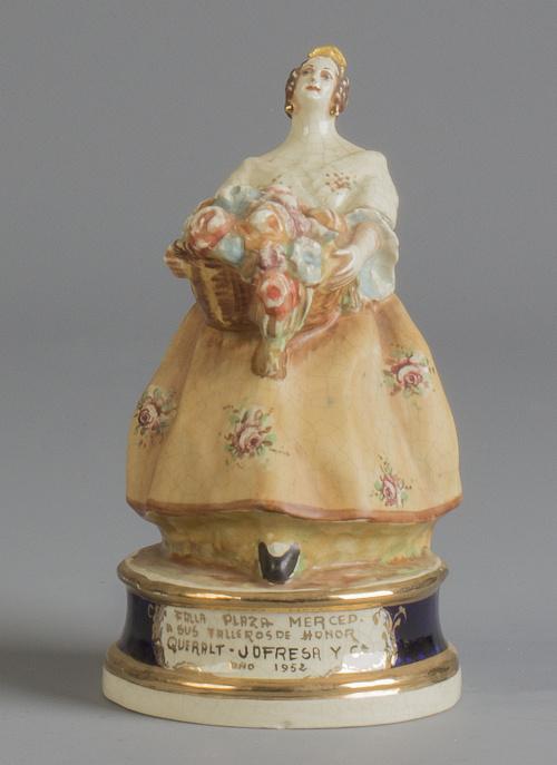 Valenciana de cerámica esmaltada.Antonio Peyró (1930-1940