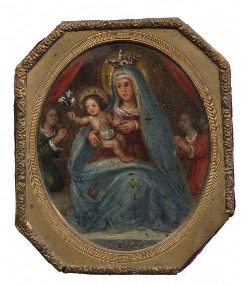 ESCUELA ESPAÑOLA, H. 1700, ESCUELA ESPAÑOLA, H. 1700Virge